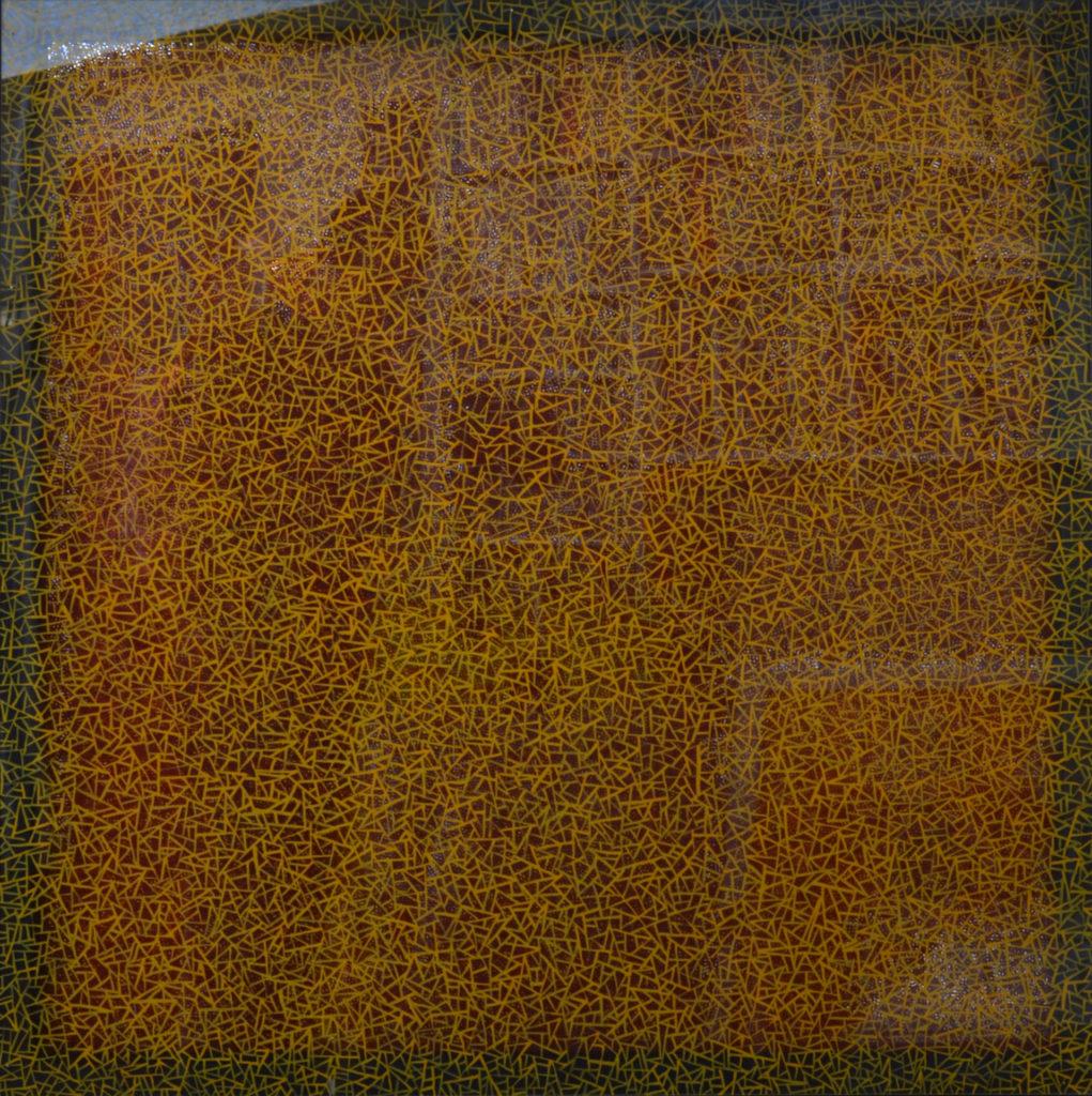 Überlagerte Strukturen I, 2019, Stephan Sude