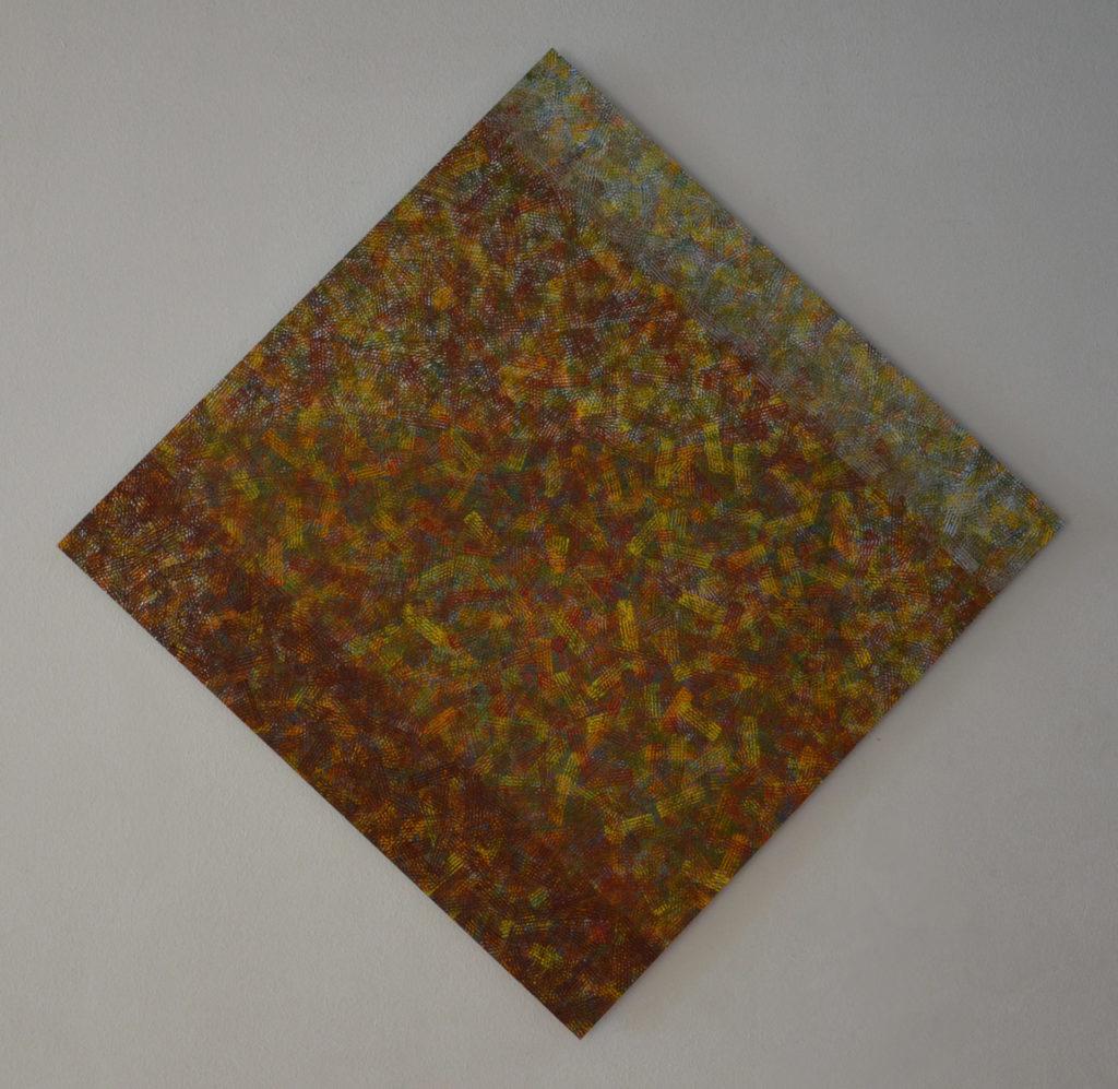 Struktur 1, Öl auf Alu-Dibond, Stephan Sude