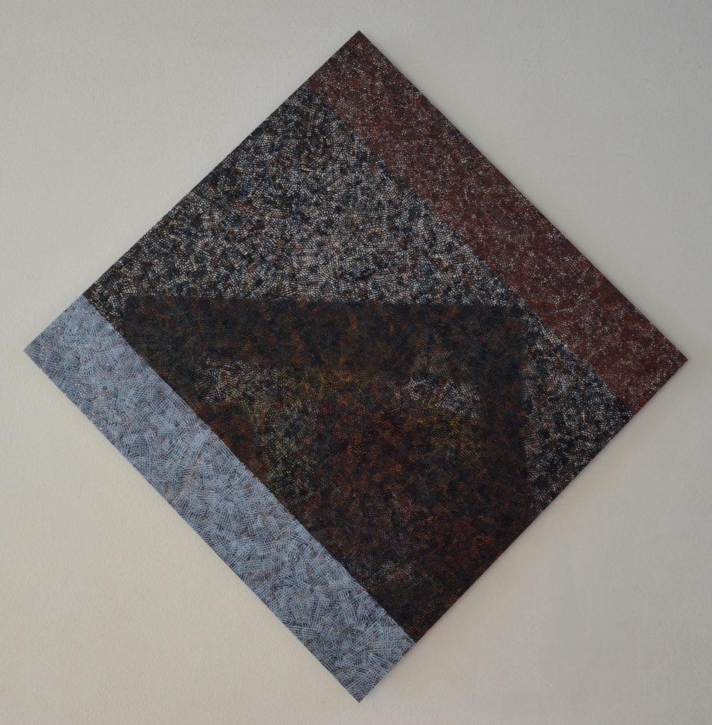 Struktur 2, Öl auf Alu-Dibond, Stephan Sude